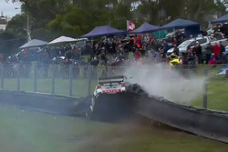 Unfall: James Golding, Garry Rogers Motorsport, Volvo
