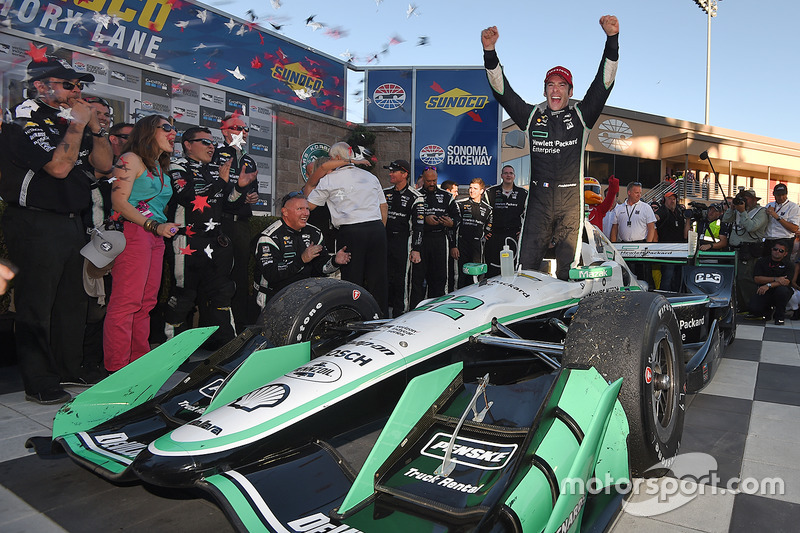Wie werd er dit jaar kampioen in de IndyCar?