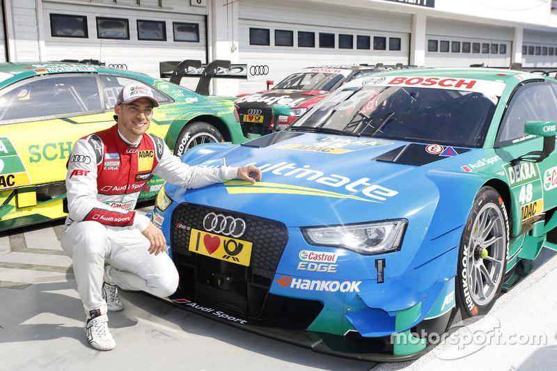 Pole position para Edoardo Mortara, Audi Sport Team Abt Sportsline, Audi RS 5 DTM