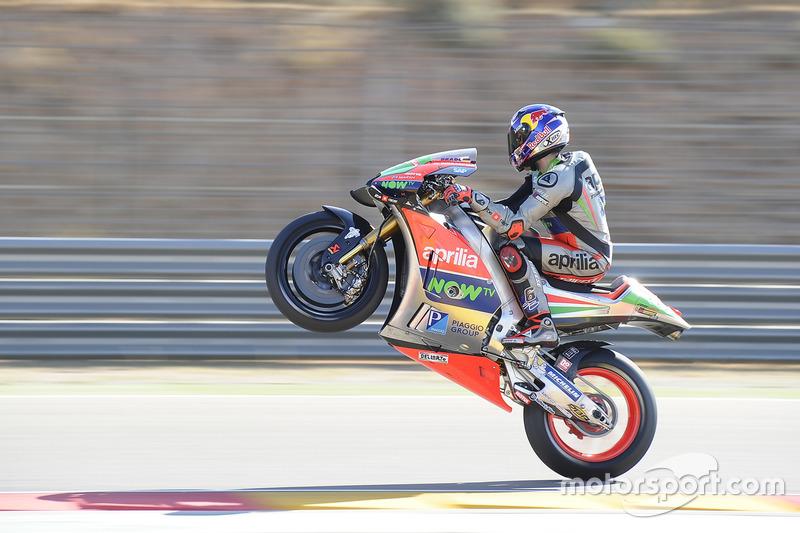 Штефан Брадль, Aprilia Gresini Racing Team