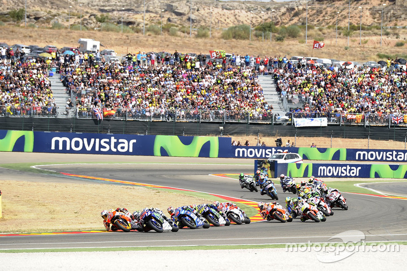 Марк Маркес, Repsol Honda Team, Хорхе Лоренсо, Yamaha Factory Racing
