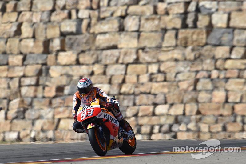 Aragón: bueno para Yamaha, estupendo para Márquez