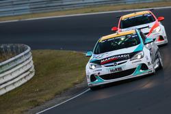 Cedrik Totz, Uwe Unteroberdörster, Eduard Kamm, Opel Astra OPC Cup