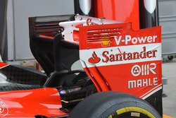 Ferrari rear wing detail