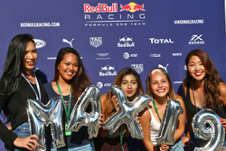Fans of Max Verstappen, Red Bull Racing