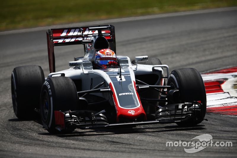 12: Romain Grosjean, Haas F1 Team VF-16
