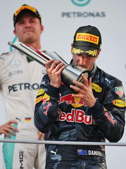 Победитель гонки Даниэль Риккардо, Red Bull Racing