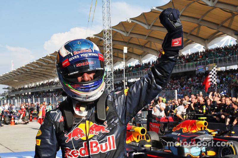 Mais voltas completadas: Daniel Ricciardo (1267); Sergio Perez (1260); Nico Rosberg (1202)