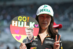Nico Hulkenberg, Sahara Force India F1 fan