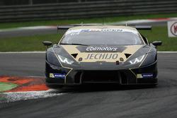#64 Ebi Motors Lamborghini Huracan GT3: Emanuele Busnelli, Fabio Babini