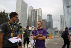 Mitch Evans, Jaguar Racing e Sam Bird, DS Virgin Racing