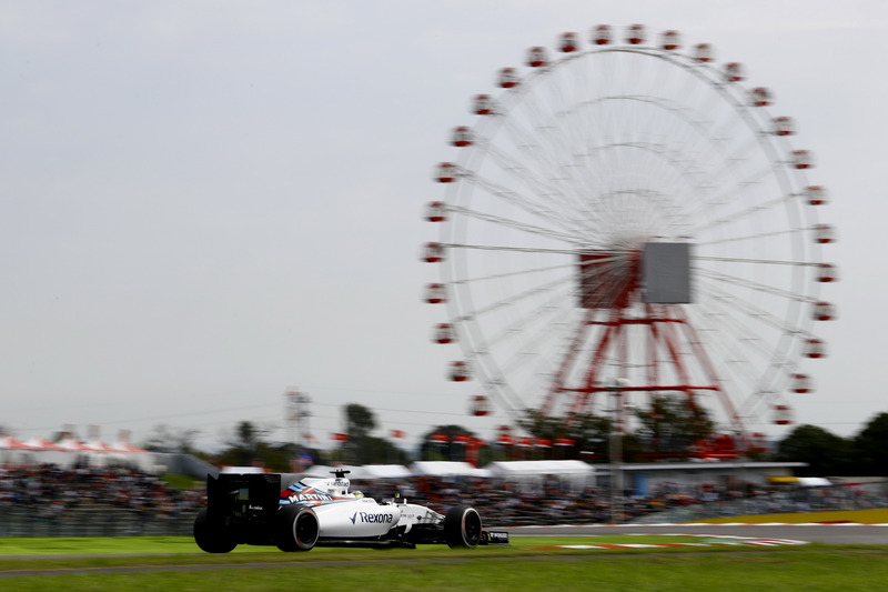 """Suzuka possui apenas dois pontos de frenagem mais forte: a curva 11, que é um """"grampo"""" à esquerda, e a curva 16, a entrada da famosa chicane da pista. Por isso, os freios nem são tão exigidos no geral."""