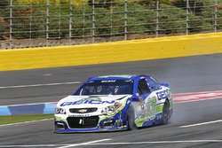 Casey Mears, Germain Racing Chevrolet, crashed car