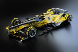 Designstudie für 2030: Renault F1 Team