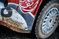تفاصيل سيارة سيتروين دي.أس3 دبليو آر سي، فريق أبوظبي توتال العالمي للراليات