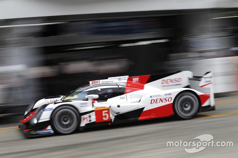 4. LMP1: #5 Toyota TS050 Hybrid: Sebastien Buemi, Kazuki Nakajima, Anthony Davidson