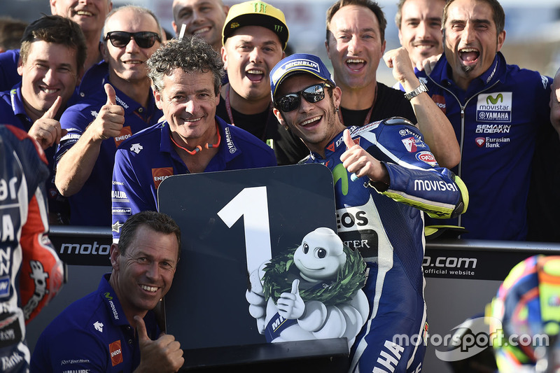 Поул-позиція Валентино Россі, Yamaha Factory Racing