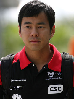 Sakon Yamamoto, Test driver, Virgin Racing