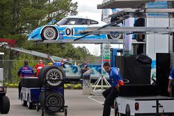 #01 Chip Ganassi Racing with Felix Sabates BMW Riley