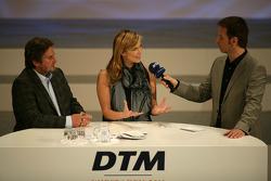 Verena Wriedt and Klaus Lufen - TV at DTM