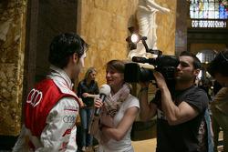 Miguel Molina, Audi Sport Team Abt Junior, Audi A4 DTM,  TV Interview