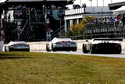 #3 Hexis AMR Aston Martin DB9; #8 Young Driver AMR Aston Martin DB9; #41 Marc VDS Racing Ford GT Matech