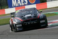 #22 Peter Dumbreck, Richard Westbrook; Nissan GT-R; JR Motorsports