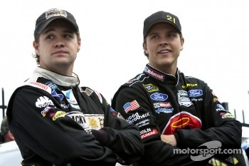 Ricky Stenhouse Jr. and Trevor Bayne