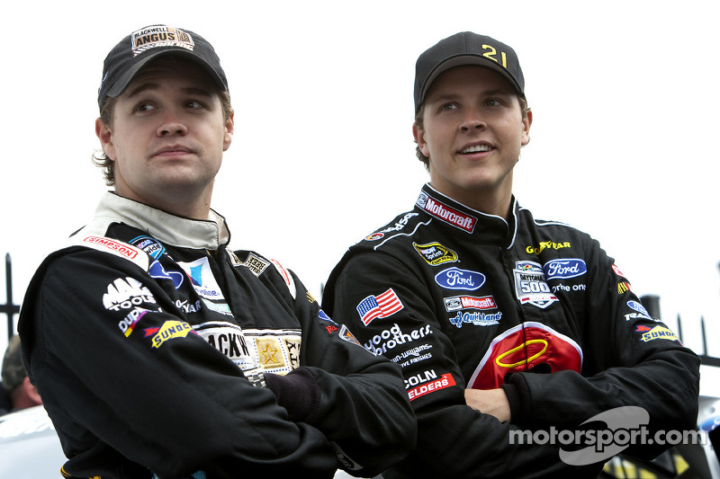 Ricky Stenhouse Jr. and Trevor Bayne