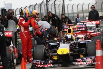 Red Bull still ahead says Alonso
