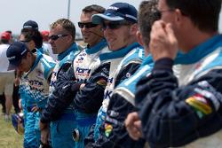 Forsythe Racing crew members