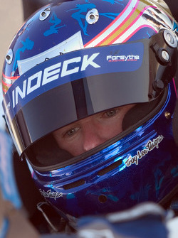 Paul Tracy prepares to turn some laps