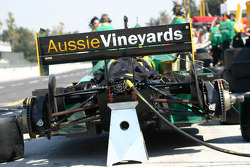 Team Australia Racing pit area