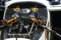The insides of Justin Wilson's ride