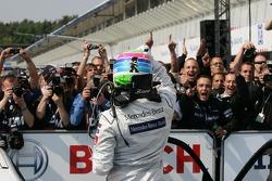 Race winner Bruno Spengler, Team HWA AMG Mercedes, AMG Mercedes C-Klasse