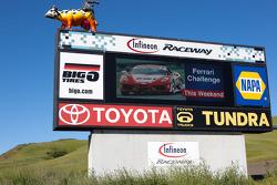 Infieon Raceway billboard