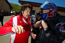 Justin Bell tries the Ferrari 599XX of Scott Tucker