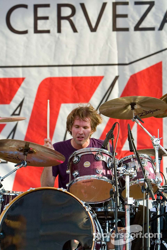 Le batteur de Bad Religion Brooks Wackerman