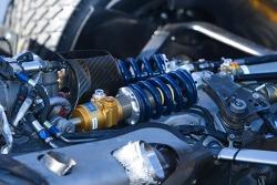 Champ Car rear suspension