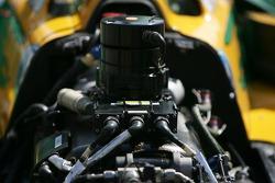 Detail of the Australia Racing car