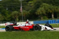 Graham Rahal teste une voiture de Champ Car pour Newman Haas Racing