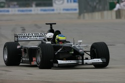 The Minardi F1X2 gives a ride to a guest