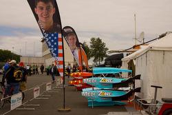 Champ Car paddock scene