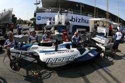 Forsythe Racing crew members at work