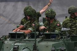 Canadian Army parade