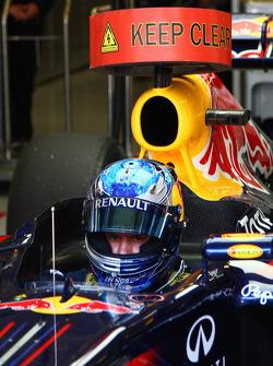 Sebastian Vettel, Red Bull Racing has been testing with KERS