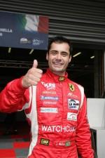 LMGT pole winner Jaime Melo