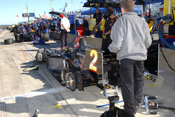 Panther Racing pit area