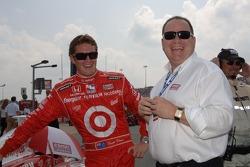 Scott Dixon and Chip Ganassi