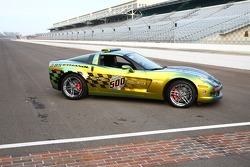 This is the record 10th time that a Corvette will pace the Indianapolis 500
